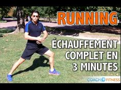 Échauffement complet avant un footing en 3 Minutes - YouTube