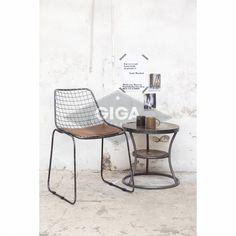 Robuuste stoere industriele stoelen nu bij Giga meubel