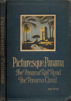 RARE 1928 Panama Canal Zone Illustrated First Edition Dozens of Fine Prints Gift | eBay