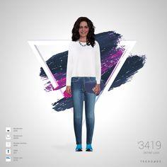 equipo de la manera hecha por Diani el uso de ropa de H&M, Browns Fashion, Nordstrom, Finish Line. Estilo hecho en Trendage.