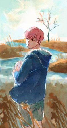 Jimin spring day fanart uploaded by park yun Jimin Fanart, Kpop Fanart, Bts Chibi, M Anime, Anime Art, Bts Spring Day, Bts Drawings, Disney Fan Art, Bts Jimin