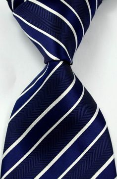 Classic Polka Dot and striped Silk Men's Tie Necktie