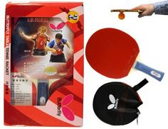 Butterfly 201 Shakehand Table Tennis Racket by Butterfly. $19.99. The Butterfly 201 shakehand racket is assembled with Butterfly Uuki rubber on both sides.  The Yuki rubber is extremely tacky offering tremendous spin. The hard 2.1 mm sponge layer will provide excellent quickness and speed. Comes with a free racket cover.. Save 20%!