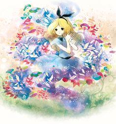 迷いアリス by 池田 優 | CREATORS BANK http://creatorsbank.com/ikedayu/works/296694