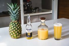 Pineapple Beer (Tepache!) — Jun  Tonic Beer Ingredients, Cocktail Ingredients, Beer Making Process, Pineapple Beer, Brewing Recipes, Home Brewing Beer, How To Make Beer, Liquor, Jun