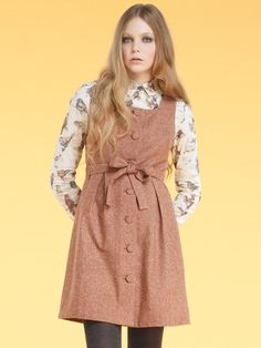 Image of AW11 Pixie's Trusty Pinafore 25% OFF