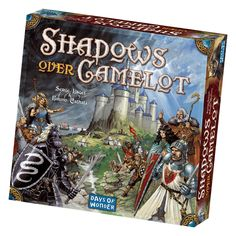 Shadows Over Camelot is a unique collaborative game featuring a malevolent twist. As the incarnation of the Knights of the Round Table, players work together to defeat the forces closing in on Camelot. But beware, players must be vigilant for a traitor in their midst who is biding his time-secretly sowing the seeds of havoc and destruction. Yet too much suspicion will undermine the knight's efforts to protect the kingdom. These are dangerous times indeed.