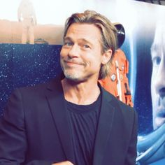 Brad Pitt News, Brad Pitt Photos, Brad Pitt Style, Brad Pitt Hair, Ideal Man, In Hollywood, Movie Stars, Actors & Actresses, Fashion Outfits