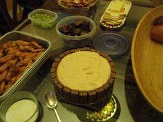 yummy... Nutty bar cheese cake