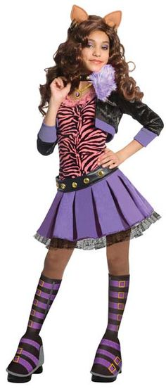Clawdeen Monster High Costume  sc 1 st  Pinterest & 54 best Monster High Costumes images on Pinterest | Baby costumes ...