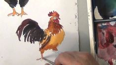 Mixing Water Colors on the Paper - The Chicken Test (+playlist)