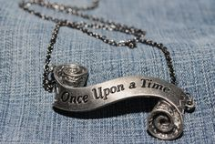 Once upon a time necklace by CrystalCharriere on Etsy, $15.00