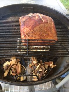 """A few months ago Doug smoked a giant pork roast on the charcoal grill. He finished the """"cook time"""" using the Ice Chest method. Pork Roast, Grilling, Friday, Ice, Meat, Cooking, Food, Kitchen, Crickets"""