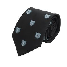 Official University Of Cambridge Light Blue Coat Of Arms Tie