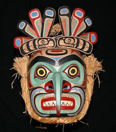 Native Mask - Mosquito Mask by Marcus Alfred C2012