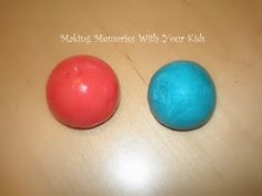 After an hour if trying bouncy ball recipies I found one that worked!!!! Homemade Super Balls