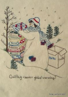 Scrap,quilt and stitch: Snow ladies