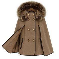 Выкройка «пальто-кейп со стойкой и капюшоном» фото1
