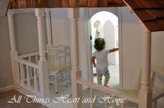 turning an everyday closet into playhouse for your kids/grandkids...pretty amazing