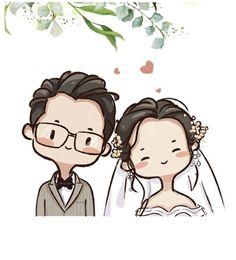Cute Couple Drawings, Easy Cartoon Drawings, Kawaii Drawings, Cartoon Art, Cute Drawings, Character Design Animation, Character Drawing, Cute Illustration, Character Illustration