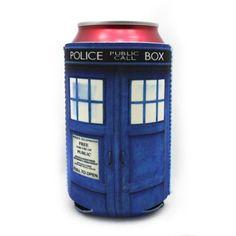 Blue Police Call Box Drink Koozie - Buddy Pack (Qty 2) Insomniac Arts http://www.amazon.com/dp/B00F5NN0CM/ref=cm_sw_r_pi_dp_cgZfub1F2G5NR
