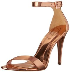 Ted Baker Womens Juliennas Dress Sandal Light PinkMetallic 10 M US ** Check out this great product.