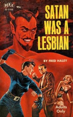 Campy, hilariously strange, awkward, these vintage covers are reminders of how far we've come from outdated LGBT stereotypes. A gay safari does sound kind of fun, though.