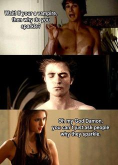 Mean Girls + Vampire Diaries + Twilight = Funny