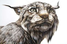 George Boorujy's Hyper-Realistic Paintings Confront The Viewer With Intense Animal Gazes