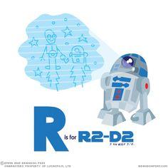 Impariamo l'alfabeto, con Star Wars