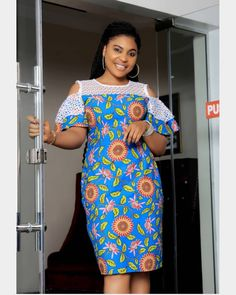 Ankara Lovers get in here😍😍 Yeah issa restock alert and this cutie is Available for order😍😍😍😍 Designed NY Short African Dresses, Ankara Short Gown Styles, Lace Dress Styles, African Print Dresses, African Fashion Ankara, Latest African Fashion Dresses, African Print Fashion, Ankara Dress Designs, African Traditional Dresses