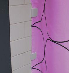 Beau Anti Splash / Spill Shower Curtain Clips Stop Water Leaking: Amazon.co.uk
