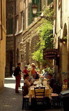 Osteria, Rome, Italy