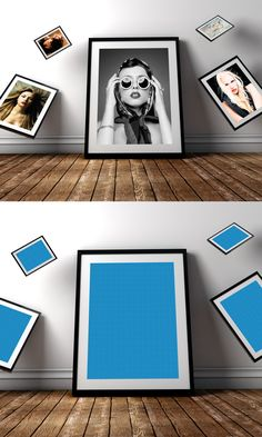 Free Photo Frame PSD Mockup #freepsdfiles #freepsdmockups #mockuptemplates