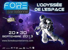 Foire Internationale de Saint-Etienne « L'Odyssée de l'Espace », Rhône-Alpes