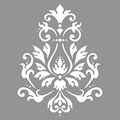 RAYHER HOBBY, Stencil per pareti, motivo broccato, stampo per pittura, shabby chic, vintage, decorazione murale, 30,5 x 30,5 cm, 1 pz.: Amazon.it: Casa e cucina