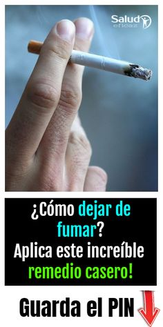 Con este remedio natural vas a dejar de fumar definitivamente In this effective health article we are going to share an excellent home remedy to quit smoking definitively and end this scourge. up smoking remedies Natural Cold Remedies, Herbal Remedies, Health Remedies, Home Remedies, Yoga For Men, Wellness Tips, Healthy Drinks, Diabetes, Healthy Life