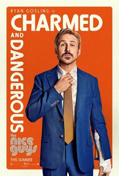 THE NICE GUYS movie poster No.3 / Ryan Gosling