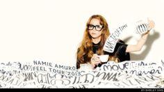 Namie Amuro Feel Tour book photo.