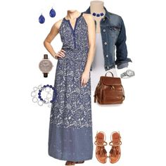 Styling My Old Navy Maxi