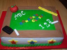 Graduation Party Cake Ideas | Preschool Graduation Cake Ideas Photograph | end of school k