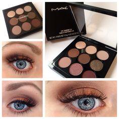 MAC Eyeshadow Burgundy Times Nine