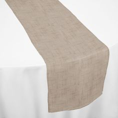 Sand Burluxe Table Runner by Chair Covers & Linens