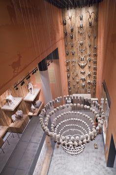 Shanghai Natural History Museum, Shanghai, China - Lighting Design: Kaplan Gehring McCarroll - Architect: Perkins+Will - Photo: Weiru Niu - Lighting products: iGuzzini Illuminazione #Palco #iGuzzini #Lighting #Light #Luce #Lumière #Licht #Museum #Shanghai #NaturalMuseum #HistoryMuseum