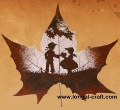 leaf carvings, pretty.