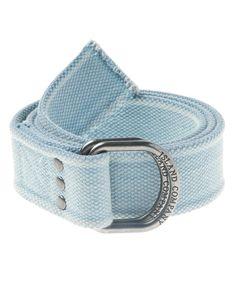 Blue Canvas Belt - Canvas Belts - Island Accessories   Island Company