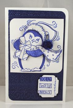 The Pampered Stamper: Stampendous: Pen Patterns are Positively Picturesque!