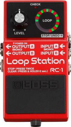Boss RC-1 Loop Station Guitar Effects Pedal - Yandas Music