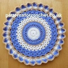 Looking for your next project? You're going to love pfc224-Round Doily crochet pattern by designer justcrochet.