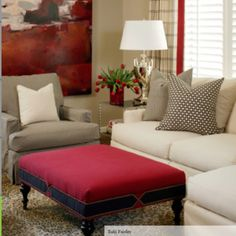 Red Living Room Design, Pictures, Remodel, Decor and Ideas Home Living Room, Room Design, Interior, Home, Living Room Red, Furniture Slipcovers, Interior Design, Elegant Decor, Living Room Designs